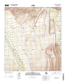 Topo map Healy D-6 SW Alaska