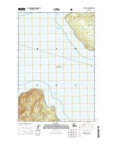Topo map Juneau B-6 SE Alaska