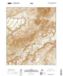 Topo map Kantishna River C-3 NE Alaska