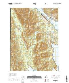 Topo map Ketchikan B-6 SE Alaska