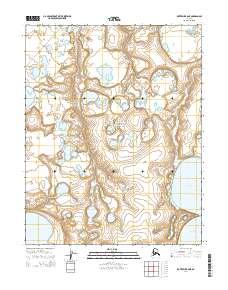 Topo map Kotzebue B-6 NE Alaska