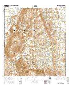 Topo map Mount Hayes A-3 SE Alaska