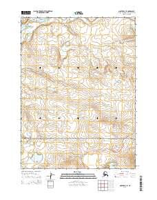 Topo map Noatak D-4 SE Alaska