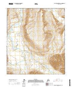 Topo map Philip Smith Mountains C-4 SE Alaska