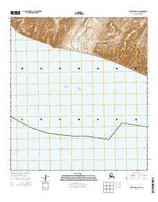 Topo map Point Hope A-2 SE Alaska