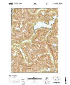 Topo map Port Alexander C-3 NE Alaska