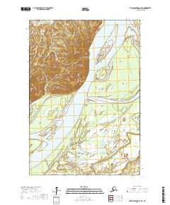 Topo map Russian Mission C-7 NE Alaska