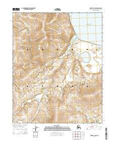 Alaska Topo Map Selawik A-5 NW