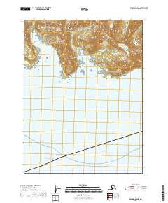 Usgs Us Topo 7 5 Minute Map For Seldovia A 4 Ne Ak 2018