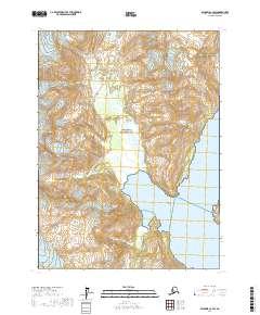 Alaska Topo Map Seldovia C 2 Sw