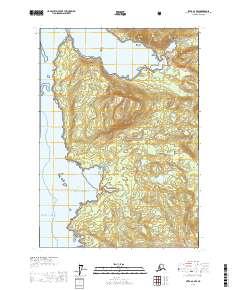 Topo map Sitka A-2 NW Alaska