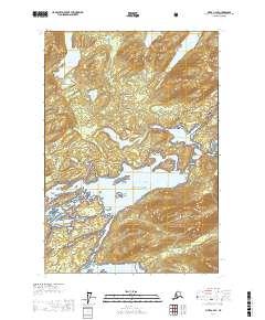 Topo map Sitka C-2 SE Alaska