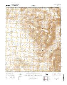 Topo map Solomon D-2 SE Alaska