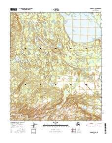 Topo map Tanana A-4 SW Alaska