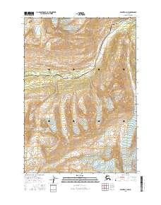 Topo map Valdez A-4 NW Alaska
