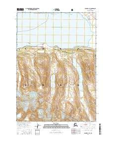 Topo map Valdez A-7 SE Alaska