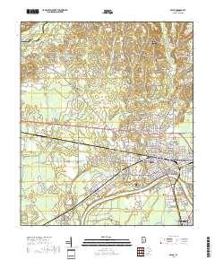 USGS US Topo 7.5-minute map for Selma, AL 2018 - ScienceBase-Catalog