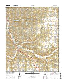USGS US Topo 7.5-minute map for Bentonville North, AR-MO 2014 ...