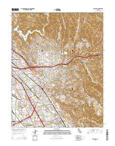 USGS US Topo 7.5-minute map for Hayward, CA 2015 - ScienceBase-Catalog