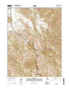 Usgs Us Topo 7 5 Minute Map For Hopland Ca 2015 Sciencebase Catalog