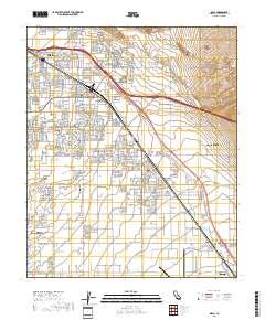 USGS US Topo 7.5-minute map for Indio, CA 2018 - Data.gov
