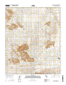 Joshua Tree Topographic Map.Usgs Us Topo 7 5 Minute Map For Joshua Tree North Ca 2015