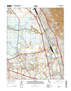 USGS US Topo 7.5-minute map for Milpitas, CA 2015 - ScienceBase-Catalog
