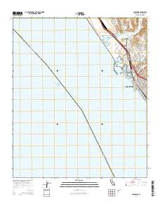 USGS US Topo 7.5-minute map for Oceanside, CA 2015 ... Map Of Ocean Side Ca on ocean beach ca, ocean side or, the ocean house in oceanside ca,