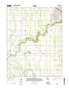 USGS US Topo 7.5-minute map for Ripon, CA 2015 - ScienceBase ... Map Of Rilon on