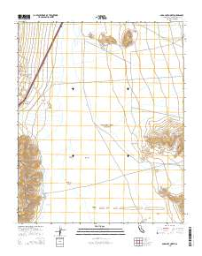 Usgs Us Topo 75 Minute Map For Soda Lake North Ca 2015 - Soda-map-of-the-us