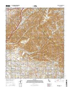 USGS US Topo 75minute map for Yorba Linda CA 2015 ScienceBase