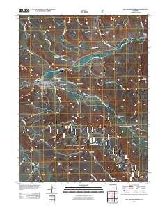 Hot Sulphur Springs Colorado Map.Usgs Us Topo 7 5 Minute Map For Hot Sulphur Springs Co 2011
