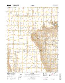 Usgs Us Topo 7 5 Minute Map For Karval Co 2016