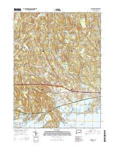 USGS US Topo 7.5-minute map for Guilford, CT 2015 ...