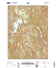 USGS US Topo 7.5-minute map for Litchfield, CT 2018 - ScienceBase ...