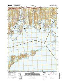 USGS US Topo 7.5-minute map for Mystic, CT-NY-RI 2015 - ScienceBase ...