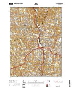 USGS US Topo 7.5-minute map for Waterbury, CT 2018 - ScienceBase-Catalog