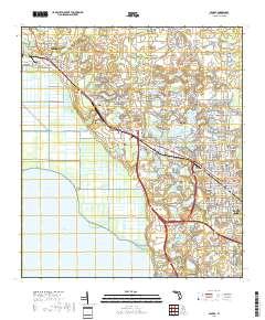 Apopka Florida Map.Usgs Us Topo 7 5 Minute Map For Apopka Fl 2018 Sciencebase Catalog