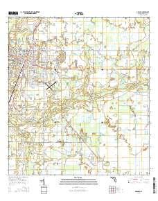 Arcadia Florida Map.Usgs Us Topo 7 5 Minute Map For Arcadia Fl 2015 Sciencebase Catalog