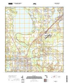 Bartow Florida Map.Usgs 1 24 000 Bartow Florida 14 00 Charts And Maps Onc And