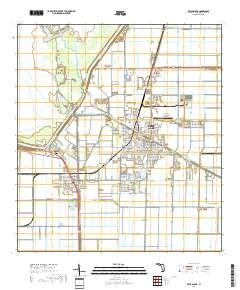Belle Glade Florida Map.Usgs Us Topo 7 5 Minute Map For Belle Glade Fl 2018 Sciencebase