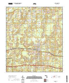 Usgs Us Topo 7 5 Minute Map For Bonifay Fl 2018 Sciencebase Catalog