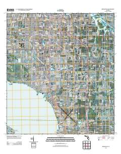 Map Of Florida Bradenton.Usgs Us Topo 7 5 Minute Map For Bradenton Fl 2012 Sciencebase Catalog