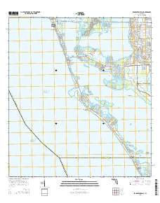 Map Of Florida Bradenton.Usgs Us Topo 7 5 Minute Map For Bradenton Beach Fl 2015