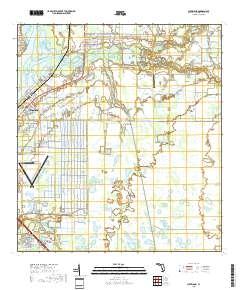 Usgs Us Topo 75 Minute Map For Cleveland Fl 2018 Sciencebase Catalog - Cleveland-on-us-map