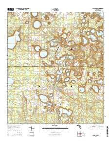Crystal Lake Florida Map.Usgs Us Topo 7 5 Minute Map For Crystal Lake Fl 2015 Sciencebase