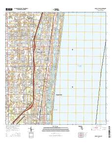 Map Of Delray Beach Florida.Usgs Us Topo 7 5 Minute Map For Delray Beach Fl 2015 Sciencebase