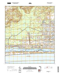 Mary Ester Florida Map.Usgs Us Topo 7 5 Minute Map For Mary Esther Fl 2018 Sciencebase