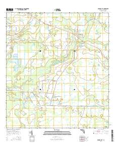 Myakka City Florida Map.Usgs Us Topo 7 5 Minute Map For Myakka City Fl 2015 Sciencebase