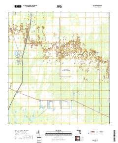 Ochopee Florida Map.Usgs Us Topo 7 5 Minute Map For Ochopee Fl 2018 Sciencebase Catalog